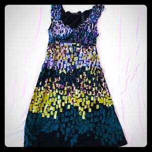 Comfy Colourful Dress from Axcess in Medium